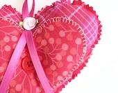 Valentine's Day Gift - Heart Door Hanger - Decorative Heart - Valentine Decoration - Door Heart - Valentine Gift For Her - Valentine's Day