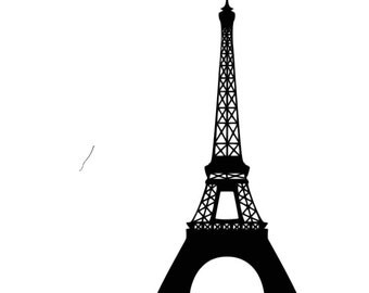Eiffel Tower SVG Cutting File-Download