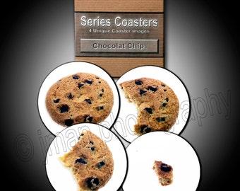 Chocolate Chip Cookie Coaster Series