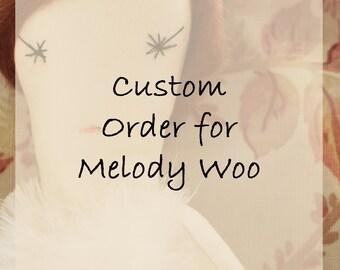 CUSTOM order for Wendy Woo
