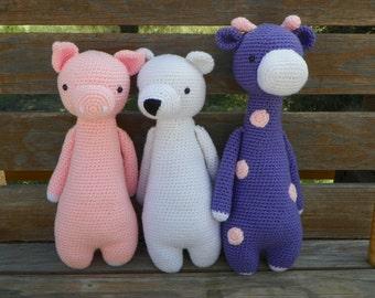 Giraffe, Piggy, Polar Bear