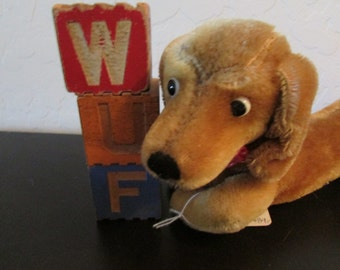 NEW LOWER PRICE - Steiff Dachshund 1950's