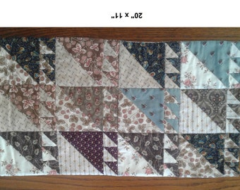 Civil War Reproduction, Quilt, Table Runner, Mug Rug, Placemat, Console Cover, Bar, Buffet, Desk, Nightstand