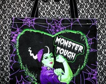 S A L E Monster Tough Canvas Purse