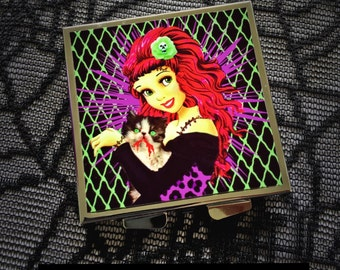 Undead Friends compact mirror