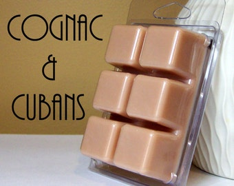 Cognac & Cubans Scented Soy Wax Tart Melts