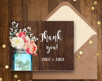 Printable Thank You Cards DOWNLOAD DIY