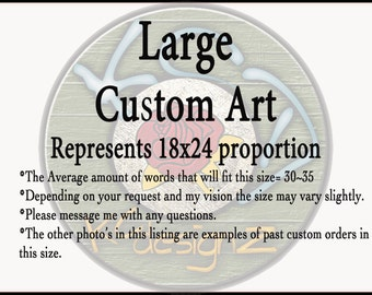 Large~18x24~Custom~Mixed Media~Wall Art~Anniversary for Him~Anniversary for Her~Wood Wall Art~Gifts for Him~Gifts for Her~KCdesignZ