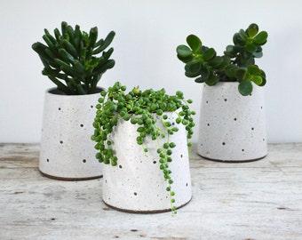 Stoneware planter - Ceramic Planter - Pottery Planter - Succulent Planter
