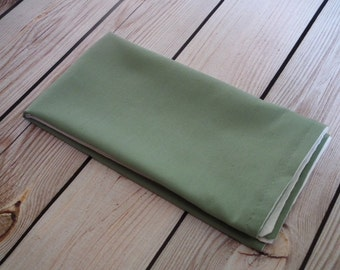 SAGE cloth napkin, fabric dinner napkin, reusable green napkin, assorted sizes & colors available