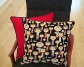 Kokeshi dolls cushion cover