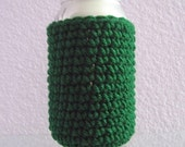 Can Cover Cozy Green Bottle Coaster