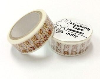 1 Roll Miffy Masking Tape Walking - Japanese Masking Tape