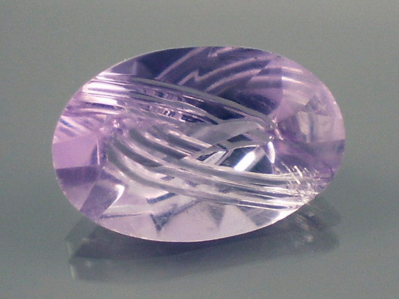 Basket Weaving Supplies Connecticut : Amethyst ct purple fantasy oval shape gemstone