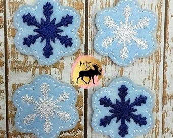 Snowflack Felties for making bows