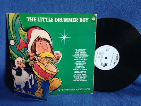 Rare Vintage The Peppermint Kandy Kids Little