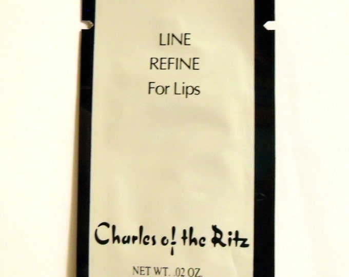 Vintage 1990s Charles of the Ritz 0.02 oz Line Refine for Lips Sample Packet