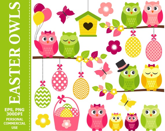 free easter owl clip art - photo #23