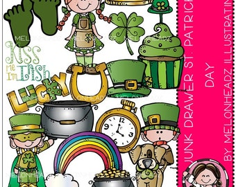 St. Patrick's Day clip art -  COMBO PACK