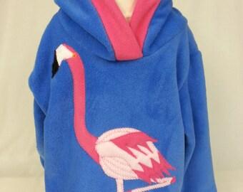Flamingo hoodie