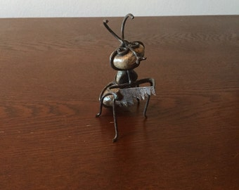Hand made ant lawn ornament