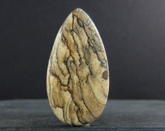 Beautiful  Owyhee Jasper Cabochon  , Natural stone B6016