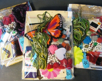 Large Ephemera Kit-Inspiration for Junk Journals, Art Journals, Mixed Media Art, Collage