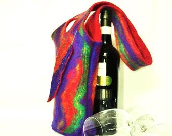 Wine Tote Merino Wool
