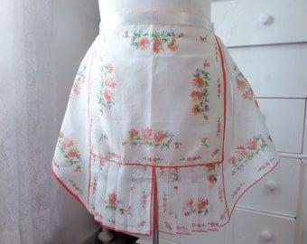 Vintage Handkerchief Half Apron