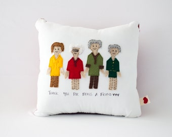 Golden Girls Pillow