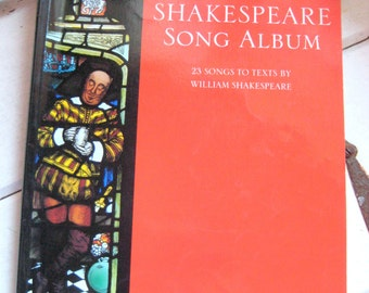 Shakespeare Song Album, 23 songs to texts by William Shakespeare, Boosey & Hawkes Music Publisher