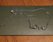Love necklace, cute and unique