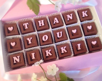Thank You Chocolates - Unique Thank You Gift - Gifts For Her