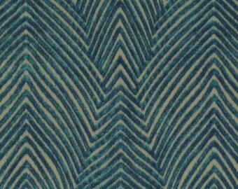 Modern Dark Teal Velvet Upholstery Fabric for Furniture - Textured Teal Blue Velvet Throw Pillows - Contemporary Teal Velvet for Furniture