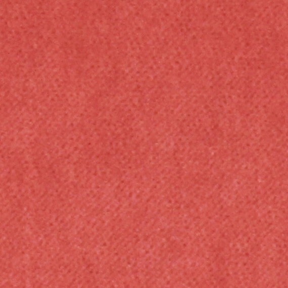 Coral Velvet Upholstery Fabric For Furniture By
