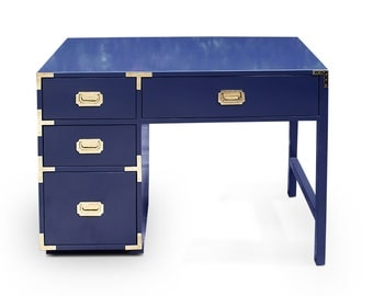 High Gloss Campaign Desk - Lacquer in Any Color