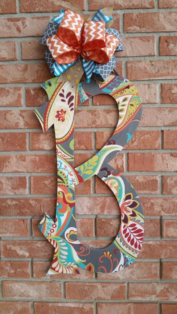 front door letter door hanger home decor alphabet letter decorative letters home decor shop the best styles