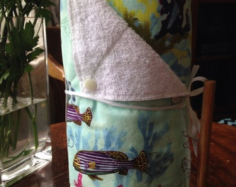 Reusable Paper Towels, Unpaper Towels, Kitchen Towels, Reusable, Eco Friendly, Cloth Towel, Unpaper Towel, Reusable Paper Towel, Ocean