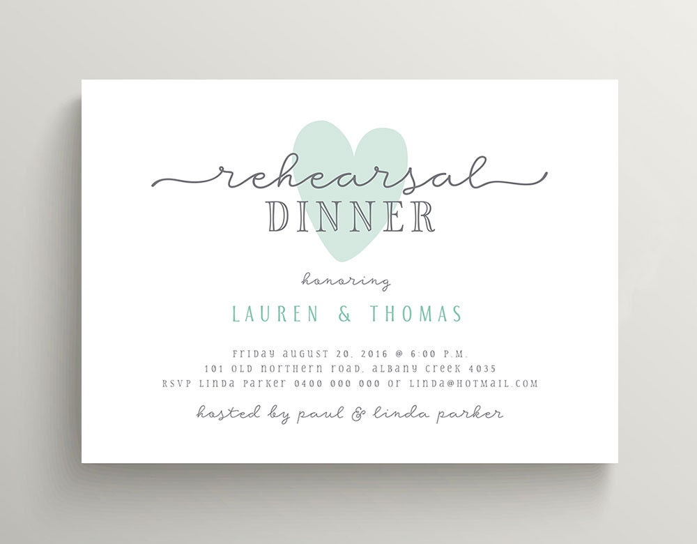 Who Do You Invite To Wedding Rehearsal Dinner: Wedding Rehearsal Dinner Invitation Printable Invitation