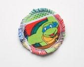 Menstrual Cup Coaster - Cup Rug - Cup Spot - Ninja Turtles