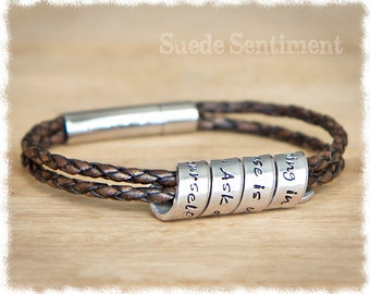 Best Friend Gift • Womens Personalized Bracelet • Anniversary Gift • Mom Jewelry • Graduation Gift • Long Distance Friendship
