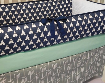 Lilac Purple Osborne Damask Custom Baby Girl Crib Bedding
