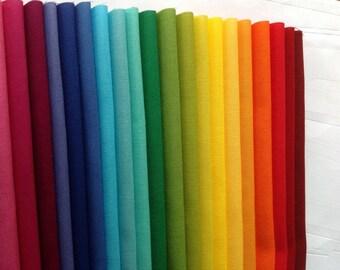 Solids Kaleidoscope of Colors Fat Quarter Bundle (KAS20FQB01)