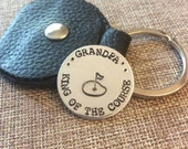 Personalized Golf Marker, Grandpa Golf Marker, Custom Golf Ball Stay, Fathers Day Gift, Gift for Dad, Retirement Gift, Golf Lovers Gift