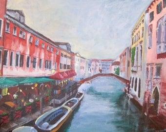 Venice, Italy Original Painting 6 x 8 in.