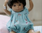 Short Sleeved Polka Dots and Children print Dress or Romper for Sasha Baby or Toddler Doll - Choice of colour