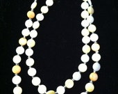 20% OFF Back2SchoolSale Summery Pastel Pearls Endless Necklace