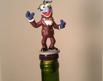 Muppets Wine Stopper, Gonzo Wine Stopper #Gonzo #Kermitthefrog #MuppetsGonzo #Gonzo #TheMuppetsWineStopper #TheMuppetsWine #Muppets
