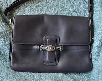 Mark Cross Navy Blue Leather Purse Made in Italy
