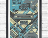 Back to the Future - 1985 - 17x11 Poster